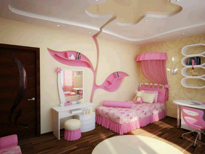 pretty girls room bedroom pinterest