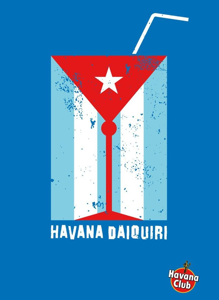 Havana Club Daiquiri | Posters and more... | Pinterest