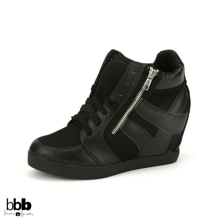 wedge sneakers tennis shoes
