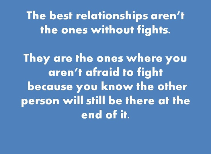 fights in a relationship