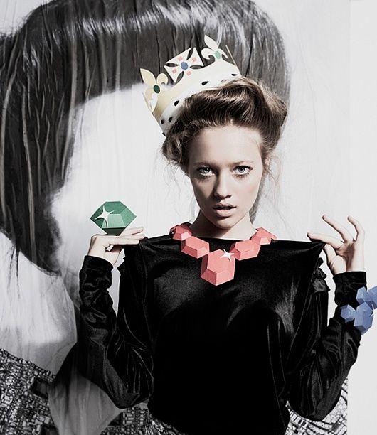Anna Gleeson's paper jewels
