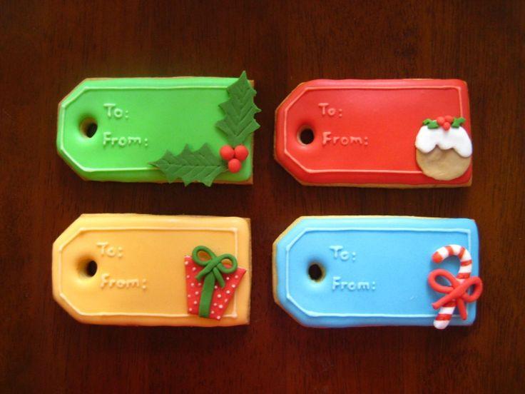 Christmas Tag Cookies