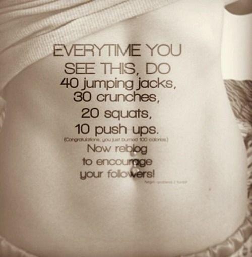 Exercise Encouragement Quotes