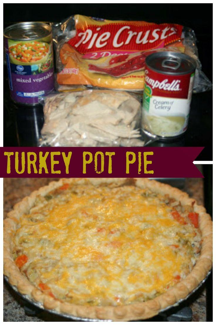 Turkey Pot Pie... great use of leftover turkey