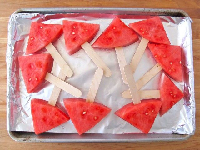 Mojito Fruit Ice Pops Recipe — Dishmaps