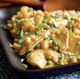 Chicken-potatoes-peas-curry dish ---- making tonight!!!