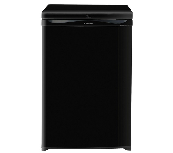 HOTPOINT RZAAV21K Undercounter Freezer - Black buy online | Currys £199