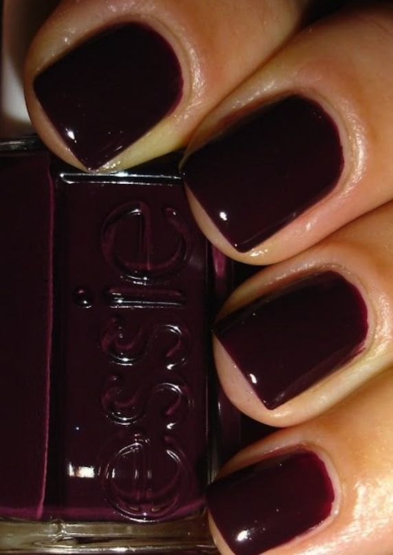 "Essie ""carry on"" for fall/winter. Just painted my nails this color."