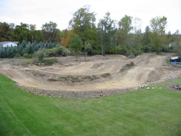 Backyard Mx Track Designs