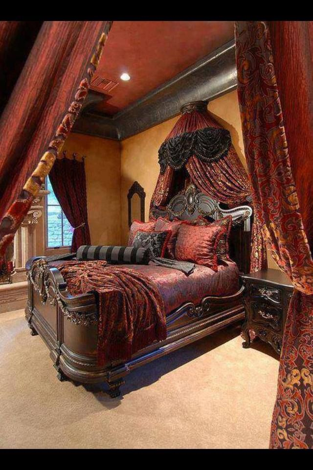 Gothic style bedroom gothic style pinterest for Gothic style bedroom