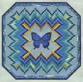 BARGELLO AND BUTTERFLY by laura perin