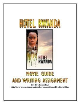 Hotel Rwanda Essay Questions