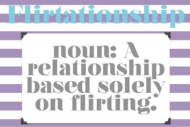 flirtationship pics Some relationships are poisonous but love sometimes blinds us to what is ruining our lives click here and learn how to tell if it's time to move on.