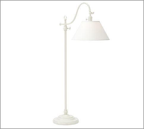 adair floor lamp pottery barn decorating the office pinterest. Black Bedroom Furniture Sets. Home Design Ideas