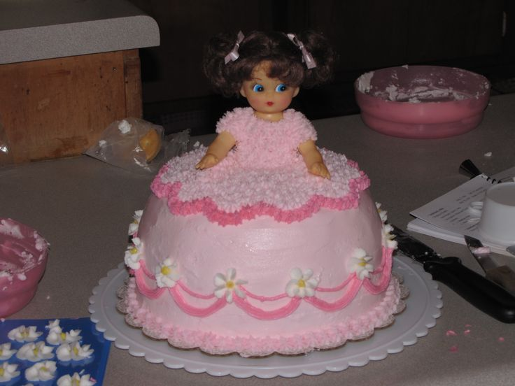 Cake Decorating Barbie Cake Recipes : Doll Cake My Cake Decorating Pinterest