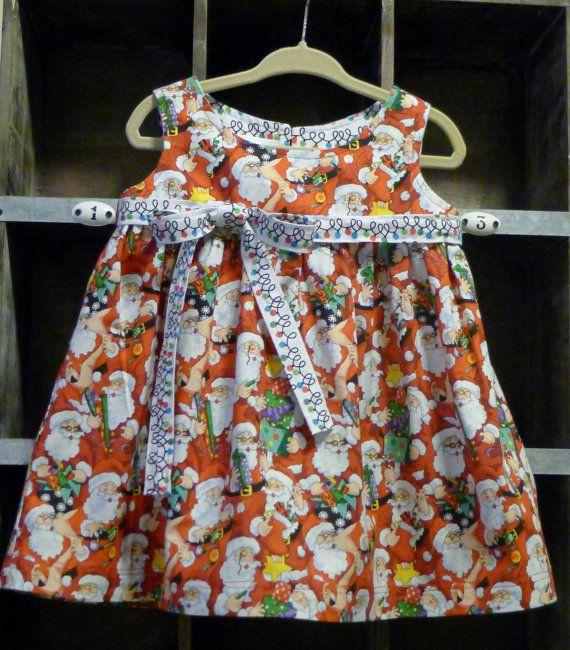 Infant christmas dress baby dress infant dress pattern 6 9 mo