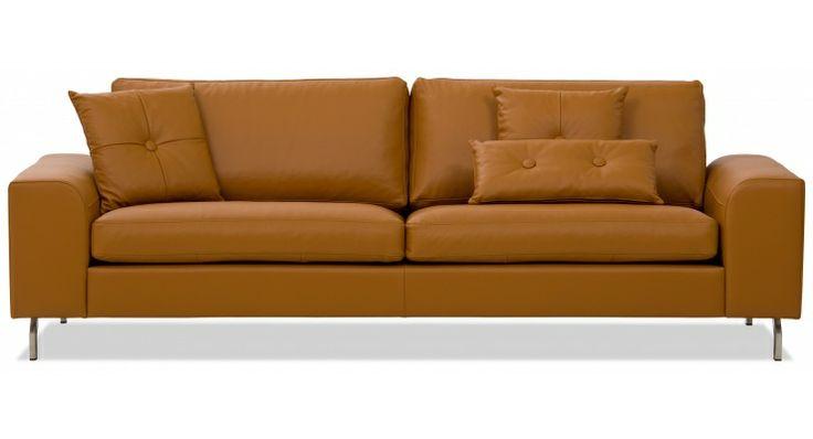 3 sitzer sofa omnia 322 ii leder. Black Bedroom Furniture Sets. Home Design Ideas
