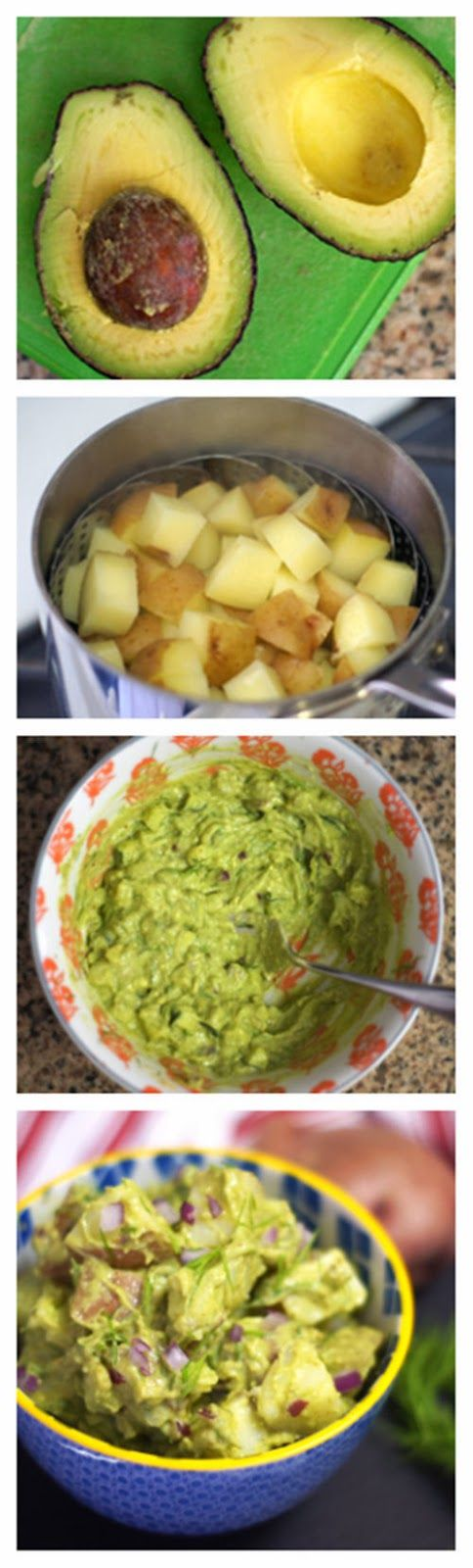 ... potato salad recipe yummly creamy fingerling potato salad vegan recipe