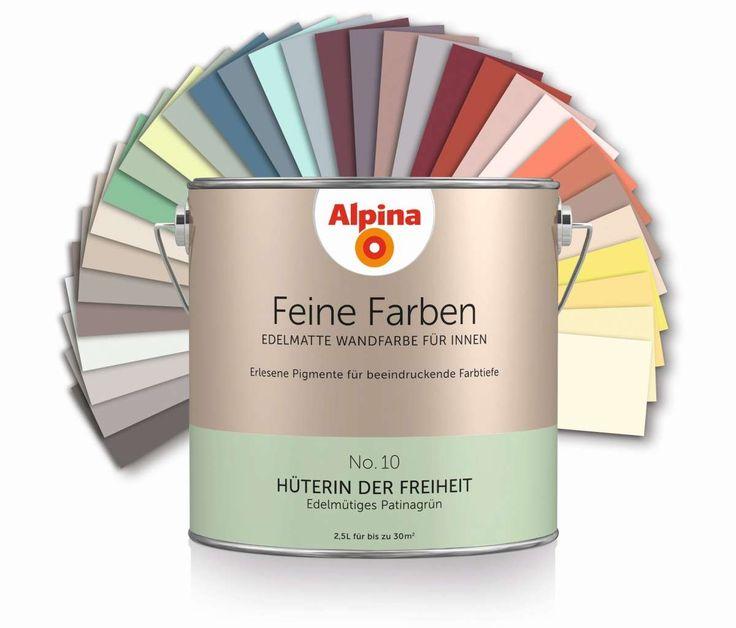 Wandfarbe alpina natura