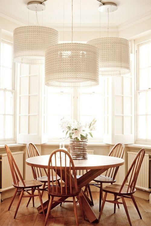 Breakfast Nook Lighting For The Home Pinterest