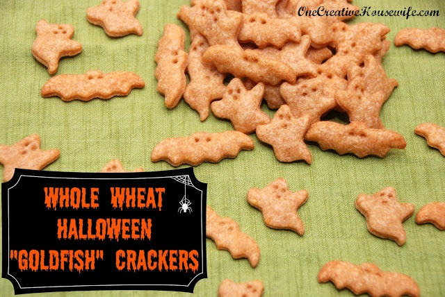 Whole Wheat Goldfish Crackers | 30 Recipes in 30 Days | Pinterest