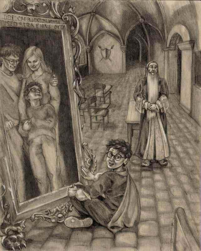 The mirror of erised all things harry potter pinterest for Miroir du rised