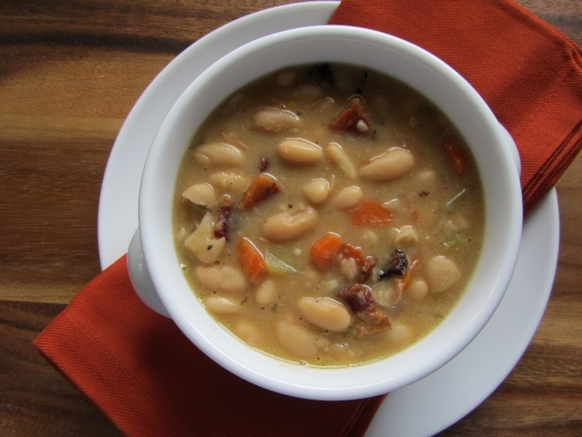 Bean & Bacon Soup | recipes | Pinterest
