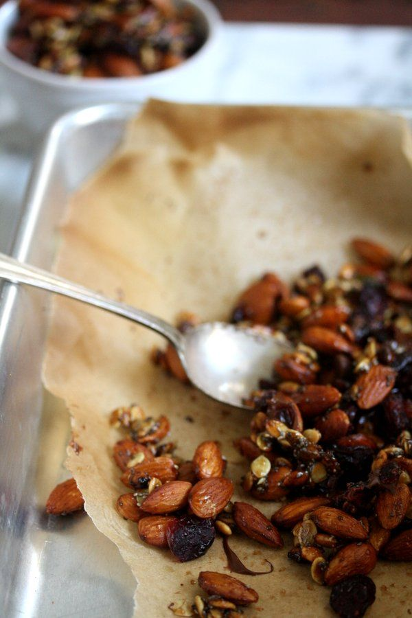 Trail Mix Recipe with Chia and Pumpkin Seeds, Almonds, Cranberries ...
