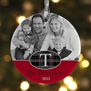 I LOVE this Personalized Photo Christmas Ornament! This is a great Christmas gift idea to give out - you add any photo, your family initial, name and year .. I love the pattern - it's beautiful! This site has the best Christmas ornaments and they're all on sale this week!