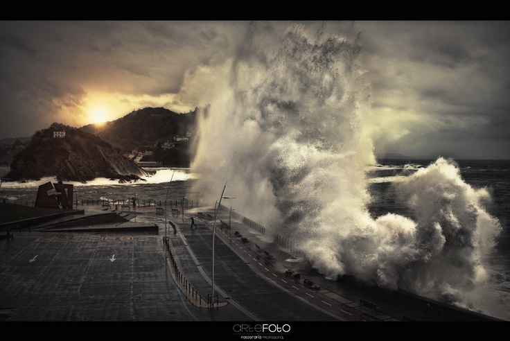 """Big Wave"" – San Sebastián, Spain – Oier Aso"