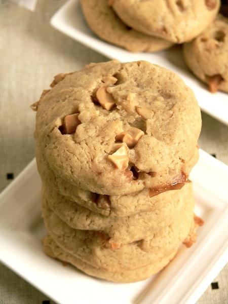 Cashew Caramel Cookies | Cookie Jar | Pinterest