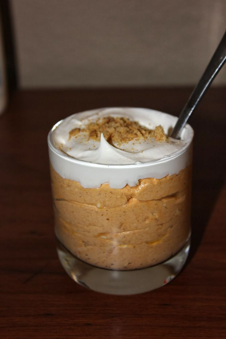 intrigue: Recipes from the Past {9} - Pumpkin Cheesecake Shooters
