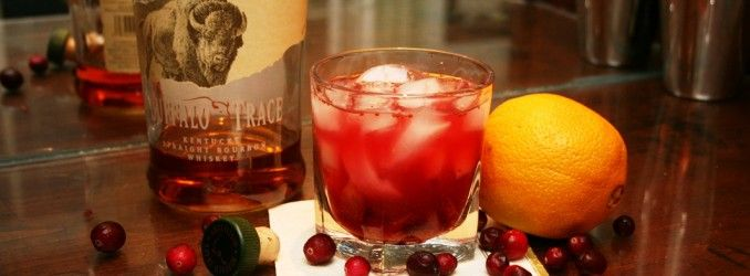 The Cranberry Old Fashioned | Liquids | Pinterest