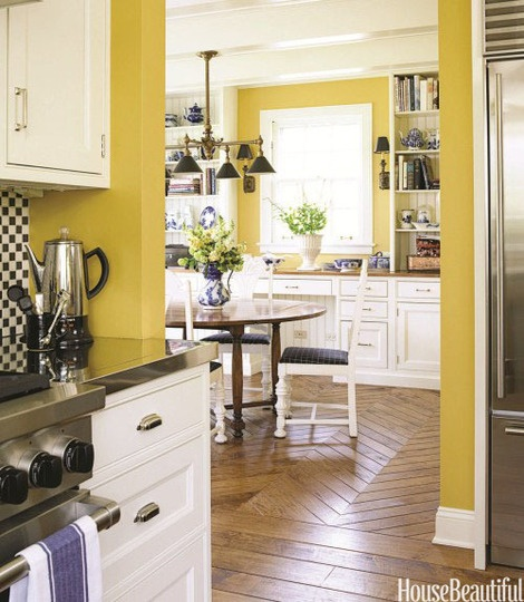 Fall Kitchen Color Mustard Yellow ? Kitchen Inspiration