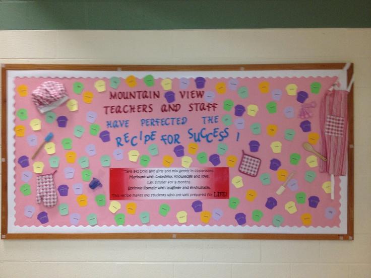 Further school bulletin board ideas on parent bulletin board sign