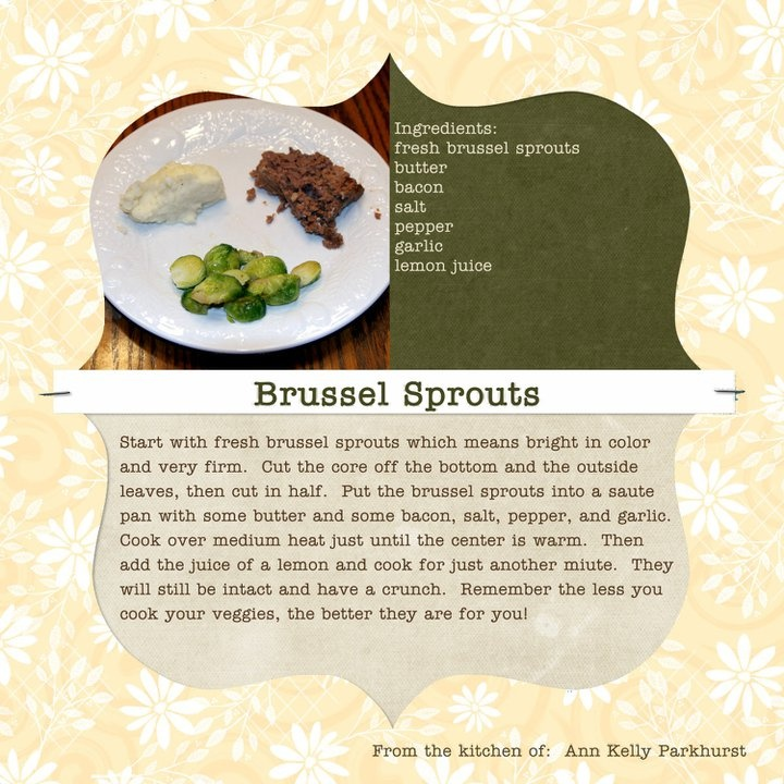 Brown Butter-Sunchoke Soup With Brussels Sprouts And Bacon ...