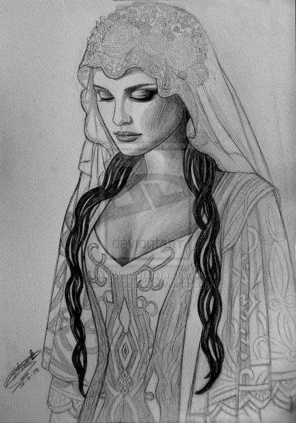 Padme s wedding gown by acrosstars on deviantart