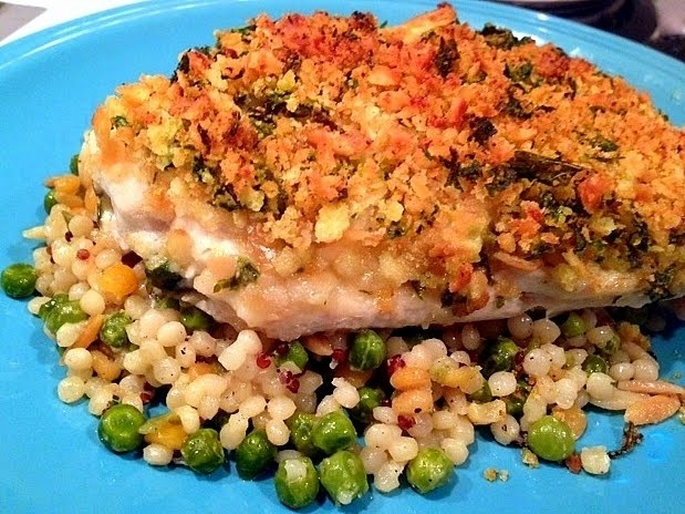 Baked Cod with Cracker Crumb Topping | Food and other Yummy stuff | P ...