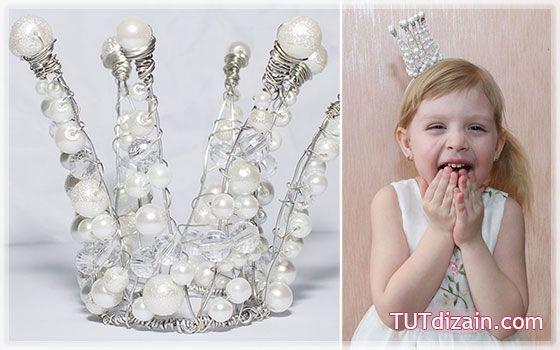 Корон принцессы своими руками