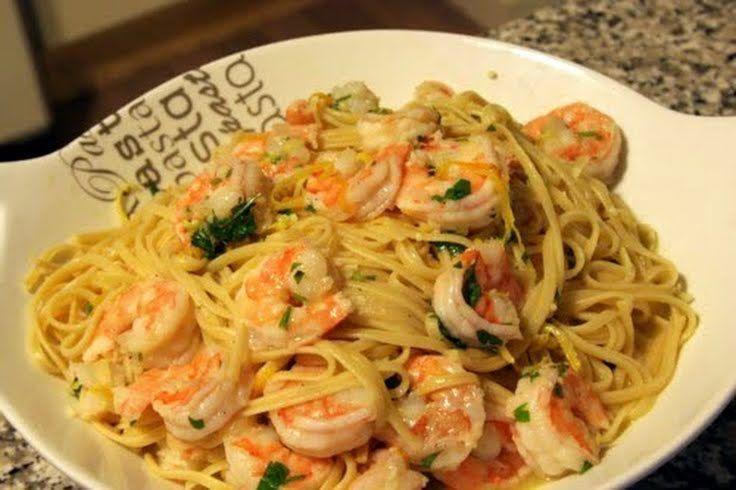 "Shrimp Pasta! 4.60 stars, 105 reviews. ""I love soo much"" @allthecoo..."