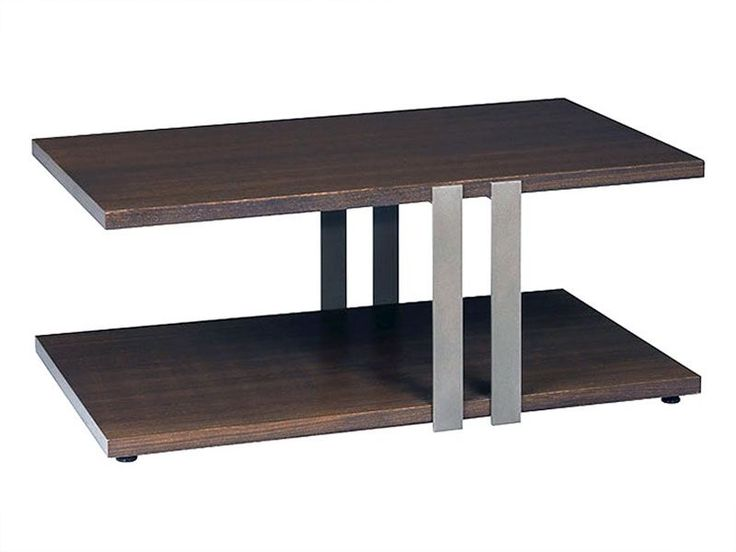 Conal Cocktail Table -- modern minimalistic wood + metal combo, industrial-inspired style and functional storage. | cort.com