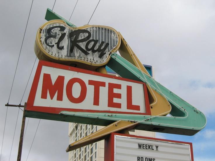 El Ray Motel Signage