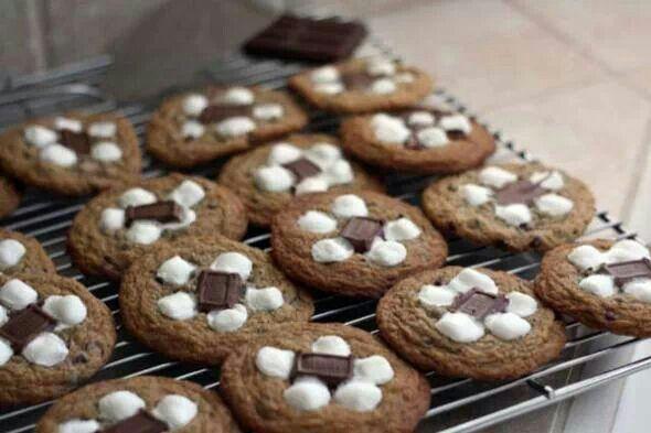 mores cookies | Cookies | Pinterest