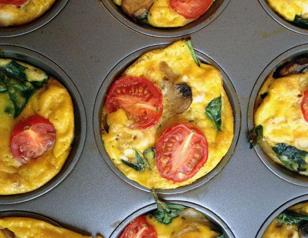 Mini Frittatas #food #recipes #frittata