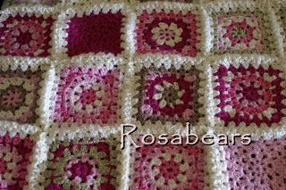 More like this: granny square patterns , square patterns and circles .