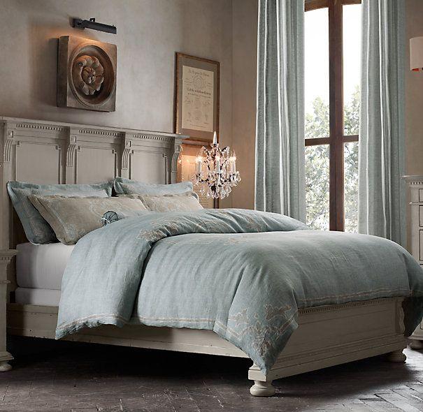 Restoration hardware bedding home decor pinterest for Duvet covers restoration hardware