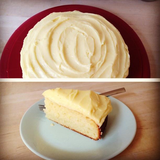 Lemon & Almond streamlined cake | GOALS | Pinterest