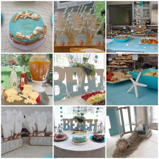 Beach Theme Party Ideas For Work Pinterest