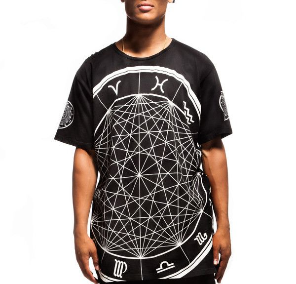 Android homme • zodiac killer tee-black