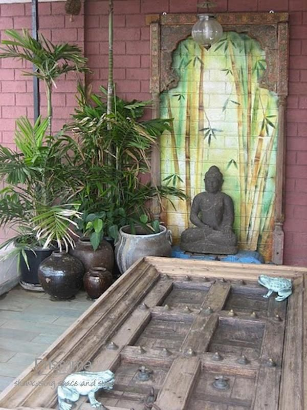 Terrace garden balcony garden next chapter pinterest for Balcony zen garden